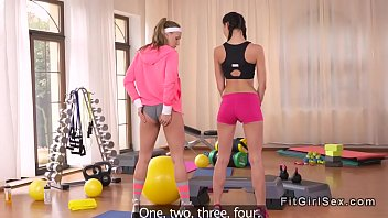 Yoga, Sport, Slim, Sports, Flexible, Teacher lesbian