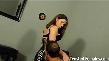 Forced, Ballbusting, Ballbust, Male slave, We