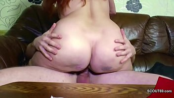 German mature, Young mother, Mom boys