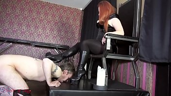 Boots, Shoejob, Femdom boots
