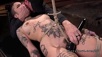 Slave, Pain, Punishment, Hogtied, Tie, Rope