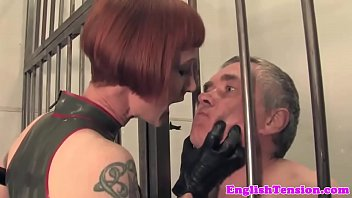 Latex, Jail, Mistress t, Latex bondage