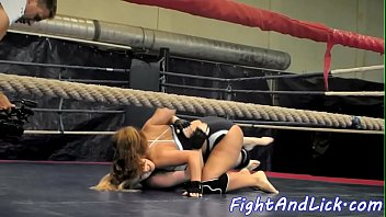 Wrestling, Catfight, Sexfight, Lesbian sexfight, Ring