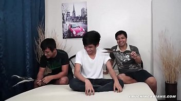 Asian gay, Asian bondage, Tickled
