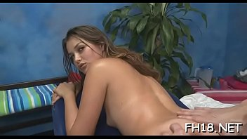 Beauty girl, Hot massage