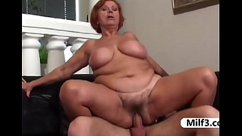 Busty stocking, Bbc milf, Granny bbc, Younger, Milf stocking