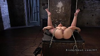 Caning, Caned, Painful, Hogtied, Rope