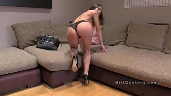 Fake agent, Agent, Anal casting, English, Casting anal, Office anal