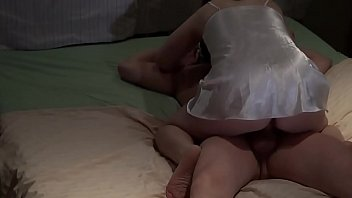 Satin, Mature creampie