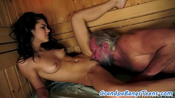 Oldman, Sauna, Teenage