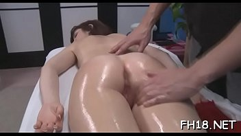 Oil massage, Sexy girl
