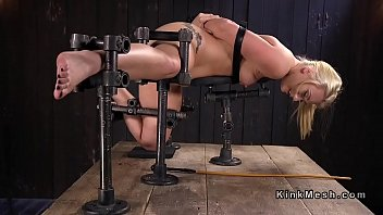 Caning, Pain, Tied, Caned, Device, Extreme dildo