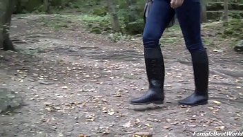 Boots, Boot, Female, Rubber, Sole, Femdom boots