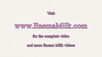 Cosplay, Milk, Milking, Enemas