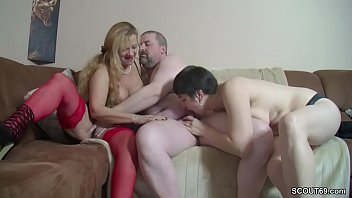 Mature, Mom threesome, German mature, Threesome german, Mom