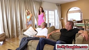Lucky, Dad anal, Swapping, Two anal, Daughter anal