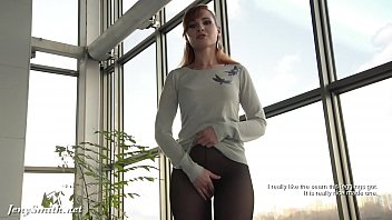 Pantyhose, Tv, High heels, Tv show, Solo pantyhose, Public flash
